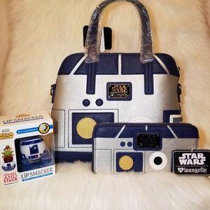 Loungefly StarWars R2-D2 Purse & Wallet